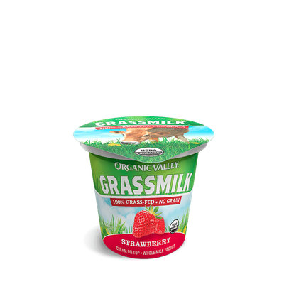 Organic Valley® Strawberry Grassmilk Yogurt