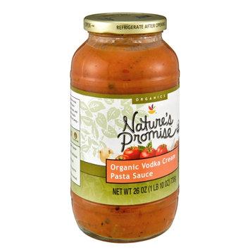 Nature's Promise Organics Pasta Sauce Organic Vodka Cream