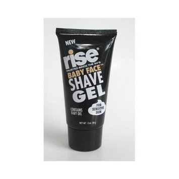 Rise Baby Face Shave Gel For Sensitive Skin With Baby Oil, 4 oz. (114 g)