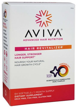 Aviva Hair - Hair Revitalizer 30 Day Supply - 64 Softgels