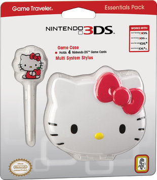 Game Traveler - Hello Kitty Game Case for Nintendo 3DS, DS Lite, DSi and DSi XL