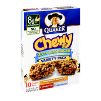 Quaker Chewy 25% Less Sugar, Variety Pack