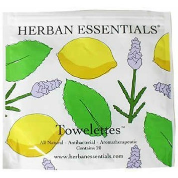 Lotus Herban Essentials Towelettes-Mixed