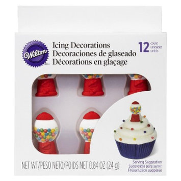 Wilton Bubble Gum Icing Decorations 0.84 oz 12 ct