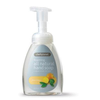Chef's Planet Foaming Liquid Soap, Citrus Dream, 8.5-Ounce Bottle (Pack of 3)
