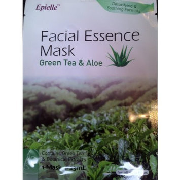 Epielle Facial Essence Mask Green Tea and Aloe (4 Count)