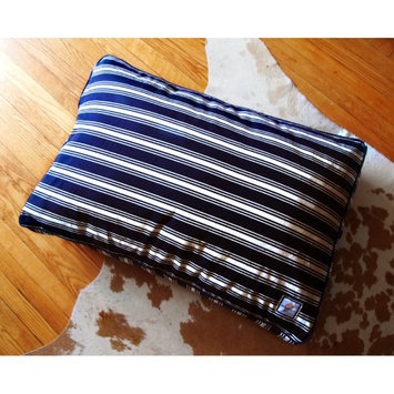 BowhausNYC Matching Crate Bed - Nautical Stripe, Patterns, 36L x 24W x 6H in. - Patterns, 36L x 24W x 6H in. - BI8L