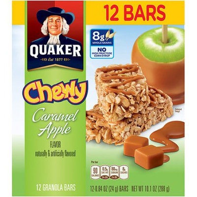 Quaker® Chewy Granola Bars Caramel Apple