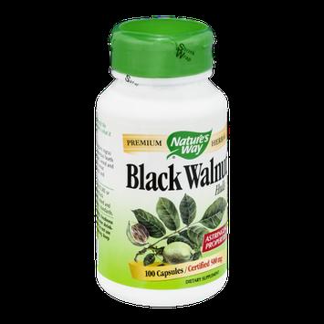 Nature's Way Black Walnut Hulls 500mg Capsules - 100 CT