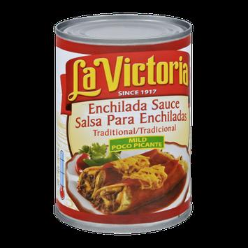 La Victoria Traditional Mild Poco Picante Enchilada Sauce