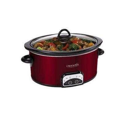 Crockpot Crock-Pot SCCPVP600-R 6-Quart Red Smart-Pot Oval Slow Cooker