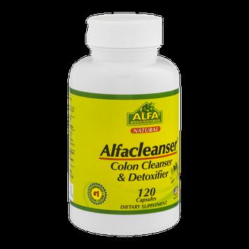Alfa Vitamins Alfacleanser Colon Cleanser & Detoxifier Capsules - 120 CT