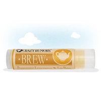 Crazy Rumors Brew Lip Balm Peppermint Lemongrass 0.15 Ounces