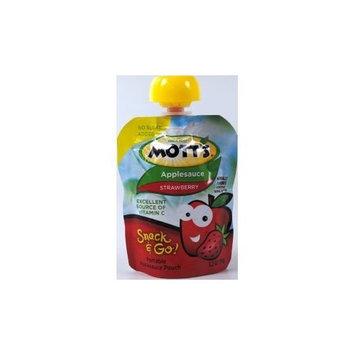Mott's Motts Applesauce Snack & Go Pouch Strawberry (3.2 Oz; 14 Pack)