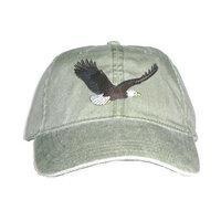 Tom's Bird Feeders Bald Eagle Embroidered Cotton Cap