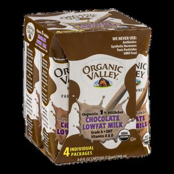 Organic Valley Lowfat Milk Chocolate - 4 CT
