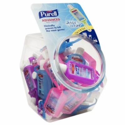 Purell Hand Sanitizer with Jelly Wrap Carrier Display Bowl