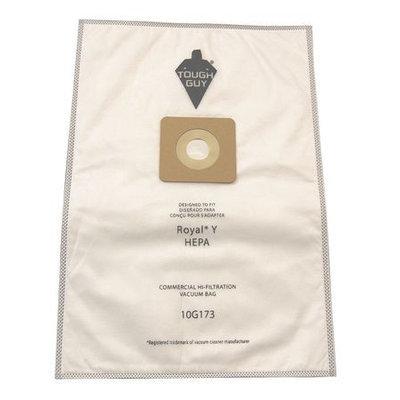 TOUGH GUY 10G173 Filter Bag,5-Ply, PK10