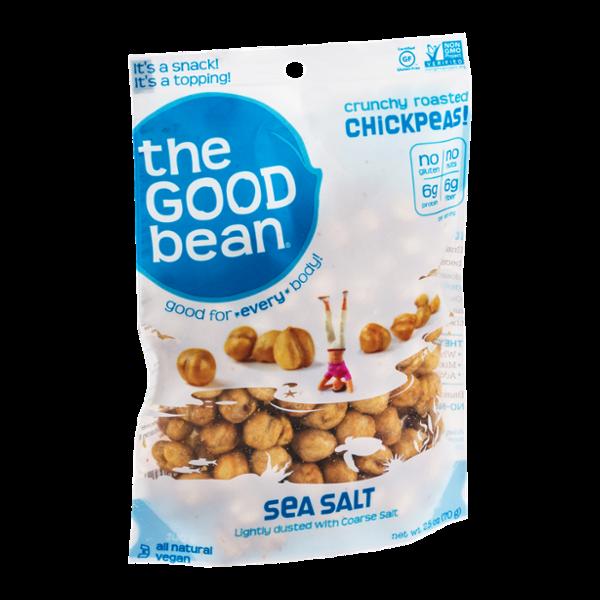 The Good Bean Crunchy Roasted Chickpeas Sea Salt
