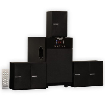 Theater Solutions TS509 5.1 Speaker System Home Theater Multimedia Surround Sound
