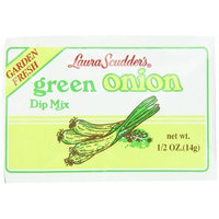 Laura Scudder's Dry Dip Mix, Green Onion, 0.5-Ounce (Pack of 24)