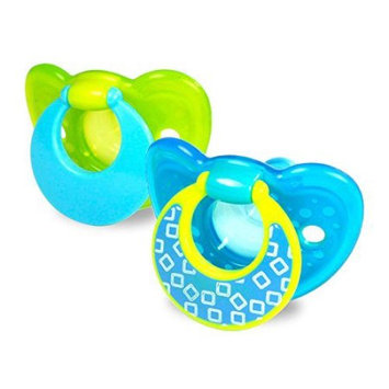 Tomy The First Years GumDrop 6-18 Months 2 Pack Pacifier - Boy