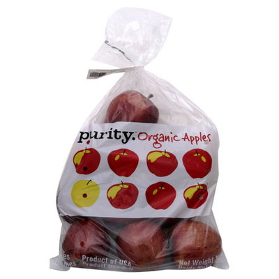 Purity Organic Apples, 3 lb (1.36 kg)