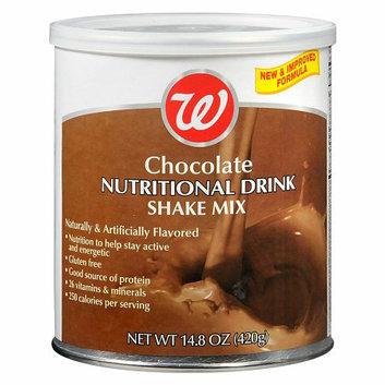 Walgreens Nutritional Shake Powder Chocolate