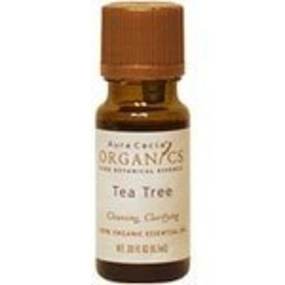 Aura Cacia Essential Oil Organic Tea Tree 0.33 Ounces