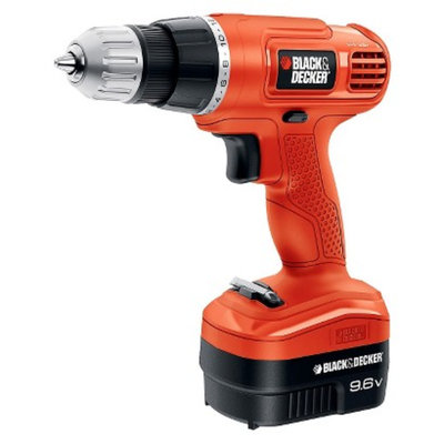 Black & Decker GC960 9.6-Volt Cordless Drill/Driver with Keyless Chuck