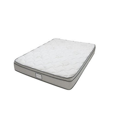Denver Mattress Denver 326394 Queen Size RV Supreme Euro Top Mattress White [Queen Size]
