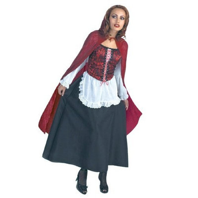 Great Value Adult Plus Sized Red Riding Hood Costume