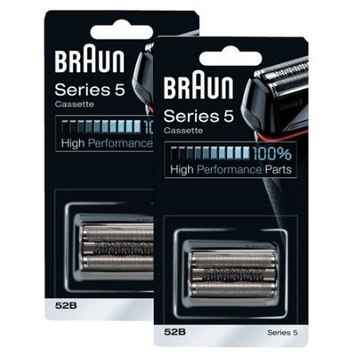 Braun 52B (2 Pack) Replacement Foil and Cutter Pack