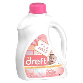 Dreft Liquid Laundry Detergent 75 oz