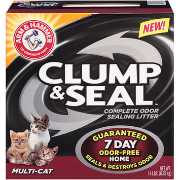 ARM & HAMMER Arm & Hammer Multi-Cat Clump & Seal Cat Litter, 14 lbs