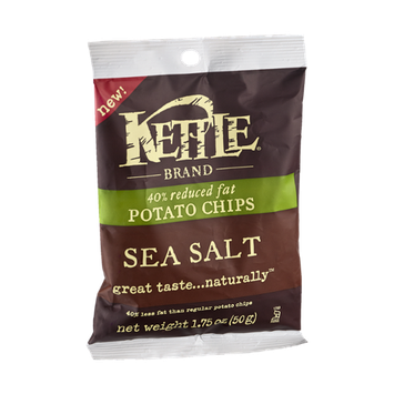 Kettle 40% Reduced Fat Sea Salt Potato Chips