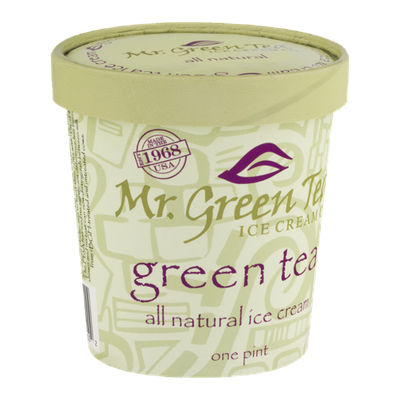 Mr. Green Tea Ice Cream Green Tea