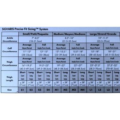 Sigvaris 860 Select Comfort Series 30-40 mmHg Women's Closed Toe Maternity Pantyhose - 863M Size: L1, Color: Crispa 66