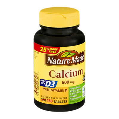 Nature Made Calcium 600mg - 150 CT