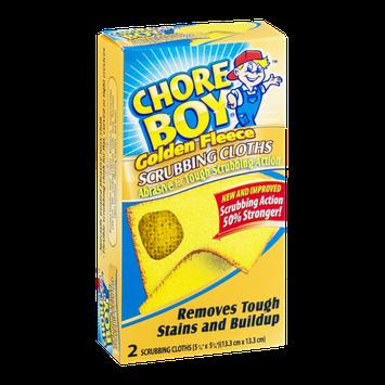 Chore Boy Golden Fleece Scrubbing Cloths - 2 CT