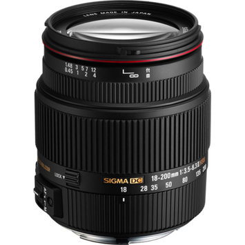 Sigma 18-200mm f/3.5-6.3 II DC OS HSM Lens for Canon Digital EOS