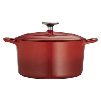 Tramontina 3.5 Quart Cast Iron Dutch Oven - Red