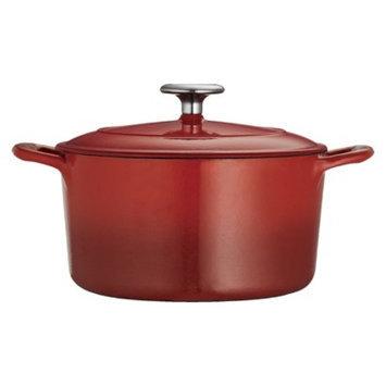 Tramontina 3.5 Quart Cast Iron Dutch Oven - Red