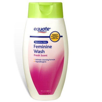 Equate Feminine Wash Sensitive Skin Fresh Scent 15oz Compare to Summer's Eve
