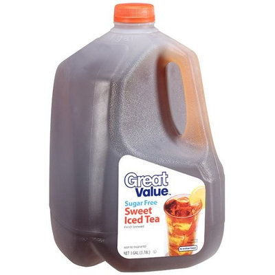 Great Value Sugar Free Sweet Iced Tea, 1gal
