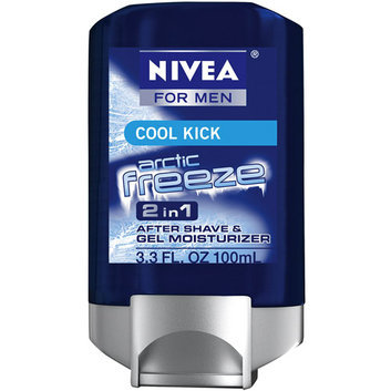 Nivea For Men Cool Kick Arctic Freeze 2 In 1 Gel Fluid After Shave