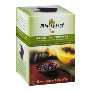 Mighty Leaf Tea Green Tea Tropical - 15 CT