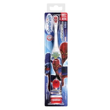 Arm & Hammer SpinBrush Kids Marvel Characters Powered Toothbrush