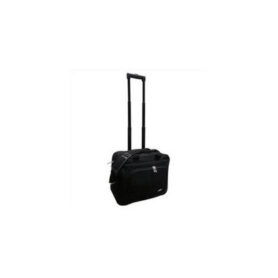 Kemyer 210-16T On the Go Carry-on Lightweight Rolling Laptop Case, Black