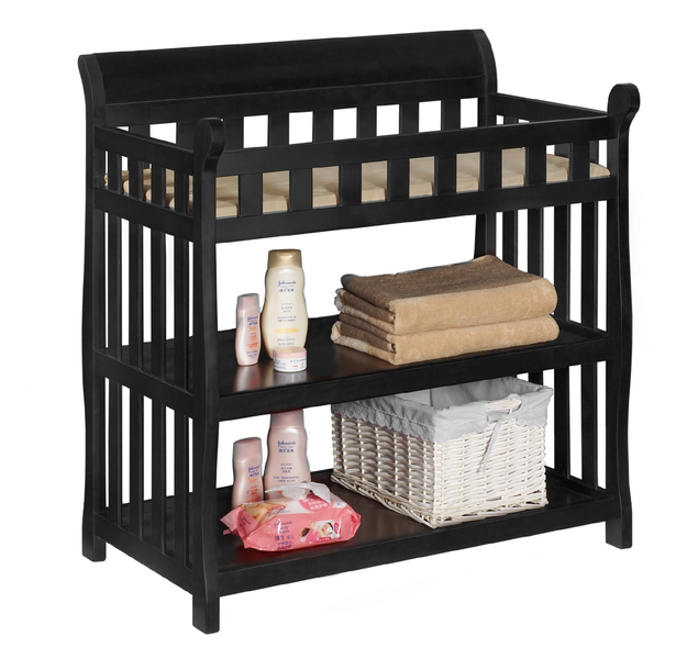 Delta Children's Products Delta Childrens Black Eclipse Changing Table